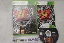 GUITAR HERO WARRIORS OF ROCK XBOX 360 (Complet, envoi suivi)