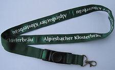 Alpirsbacher Klosterbräu Bier Schlüsselband Lanyard NEU (T163)