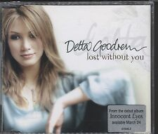 DELTA GOODREM Lost Without You 3 track AUS CD Single