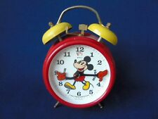 Vintage German, Bradley Mickey Mouse Alarm Clock - Working Order