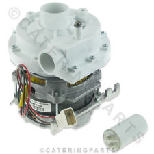 LGB ZF320SX 230V WASH PUMP MOTOR 45mm IN 40mm OUT FOR LAMBER NEWSCAN DISHWASHER