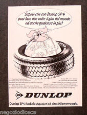 [GCG]  N895 - Advertising Pubblicità - 1979 - DUNLOP SP 4 , RADIALE AQUAJET