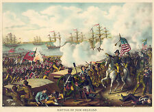 Images of Americana. The Battle of New Orleans, 1815. Fine Art Print