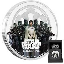 2017 STAR WARS CLASSIC: ROGUE ONE EMPIRE 1oz PROOF FINE SILVER COIN