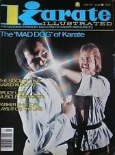 1/77 KARATE ILLUSTRATED MAGAZINE MIKE CASS PARKER SHELTON KUNG FU MARTIAL ARTS
