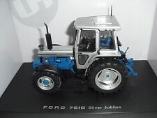 UNIVERSAL HOBBIES UH2882 FORD 7810 TRACTOR JUBILEE EDITION 1:32 SCALE
