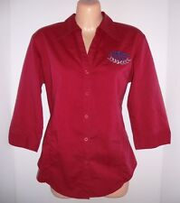 Silverstone Events Classic Adelaide Racing Stretch Shirt Top Size 10 M