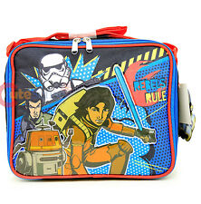 Star Wars 7 School Lunch Bag Lunch Cooler Insulated Snack Box - Rebel Fighters
