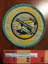 PATCH ~ French Fort Ticondaroga ( Carillon ) NEW YORK  5OU7 ex