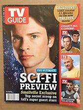 Original 2006 TV Guide 'July 24-30' Magazine Sci-Fi Preview Star Trek Lost