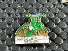 PINS PIN BADGE ARMEE MILITAIRE POLICE BETHUNE DRAGON