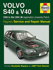 HAYNES MANUAL VOLVO S40 AND V40 96-99 N TO V REGISTRATION PETROL