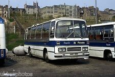 Tayside No.313 depot yard Dundee Bus Photo