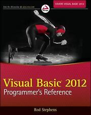 Visual Basic 2012 Programmer's Reference