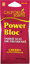 California Scents Power Bloc Under the Seat Long Lasting Air Freshener, Cherry
