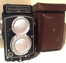 Rollei Rolleicord V, vintage 6x6 TLR camera, Xenar lens 3,5/75mm + case AWESOME