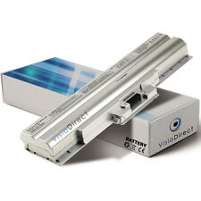 Batterie 6600mAh 11.1V type VGP-BPS13/B  pour ordinateur portable Silver