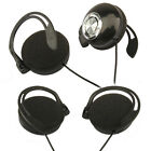 "3.5mm 1/8"" Stereo Plug Clip On Headphones Powerful Bass Ear Cup for Ipod MP3 MP4"