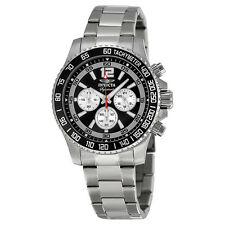 Invicta Signature II Chronograph Black Dial Mens Watch 7406