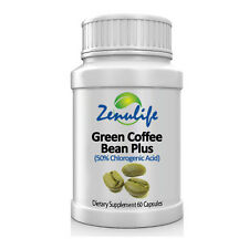 Green Coffee Bean Pure Extract Capsules 400mg with Chlorogenic Acid Weight Loss