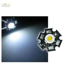 5 x Hochleistungs LED Chip 1W pur-weiß HIGHPOWER STAR