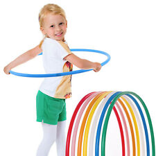 Kids 45CM Weighted Foam Padded Fitness Exercise Hula Hoop Gymnastic Random