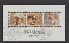 WEST GERMANY MNH STAMP SHEET DEUTSCHE BUNDESPOST 1978 NOBEL PRIZE SG MS 1853