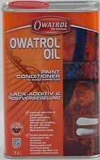 OWATROL Aceite de 1 Litros de Pintura Acondicionador & inhibidor de óxido