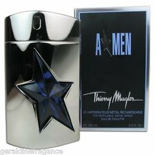 A  MEN Angel Thierry Mugler EDT METAL Rechargeable Spray 3.4 oz