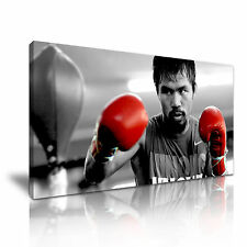 Manny Pacquiao Boxing Sports Canvas Wall Art Picture Print 60x30cm