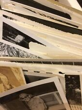50 Old Photos Lot BW Vintage Photographs Snapshots Black White antique