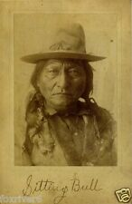 SITTING BULL (1843-1890) Signed Photograph - Hunkpapa Sioux Leader