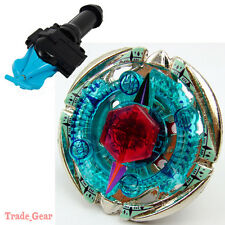 BB-95 Flame Byxis BEYBLADE Masters Fusion Metal Fight+GRIP+BLUE SPIN LAUNCHER