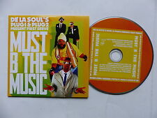 CD  single DE LA SOUL ' s PLUG1 & PLUG2 present FIRST SERVE Must b the music