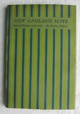 New England Suite - Selected Poems, 1950-1962 by Charles Philbrick 1962 HC Book
