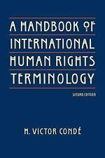 A Handbook of International Human Rights Terminology, Second Edition (-ExLibrary
