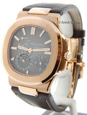Patek Philippe Jumbo Nautilus  5712 18k Rose Gold Mens Box/Papers MINT 5712R