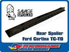 REAR SPOILER CORTINA TC-TD MADE OF FLEXIBLE RESILIENT SUPER STRONG RONFALIN
