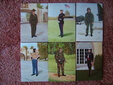6 Card Set No 18 Military Postcards UNITED STATES MARINE CORPS. Mint condition.