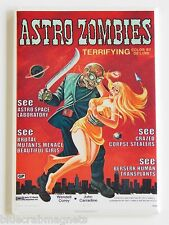 Astro Zombies FRIDGE MAGNET (2 x 3 inches) movie poster science fiction horror
