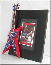 DIMEBAG DARRELL  Miniature Guitar Frame  PANTERA