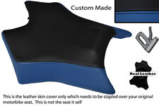 BLACK & R BLUE CUSTOM FITS DERBI GPR 50 125 UNDERSEAT EXHAUST 07-13  FRONT COVER