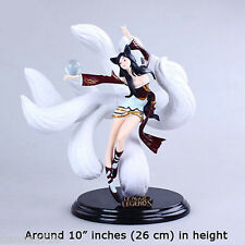 LOL League Of Legends Ahri the Nine-Tailed Fox Action Figure 3D Statue Model #5
