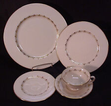 LENOX BONE CHINA ROMANCE PATTERN 5 PIECE PLACE SETTING EXC. CONDITION