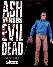 "NECA STARZ TV - ASH vs EVIL DEAD - HERO Ash - 7"" ACTION FIGURE - NIP"