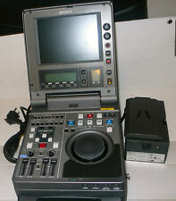 SONY DNW-A25P Used /  PORTABLE PLAYER AND RECORDER BETACAM SX  / SP