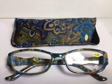 Women's Readers Fashion Reading Glasses With Case +2.25 #MPD24/2