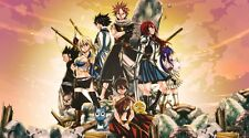 POSTER FAIRY TAIL NATSU GAJIL LUCY HAPPY GAJIL REDFOX ERZA GRAY FULLBUSTER #21