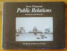 GARRY WINOGRAND - PUBLIC RELATIONS - 1977 1ST EDITION HARDCOVER W/ JACKET - FINE