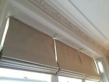 Bespoke Roman Blind and Curtain make up